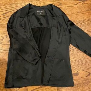 Vintage CHANEL silk blazer